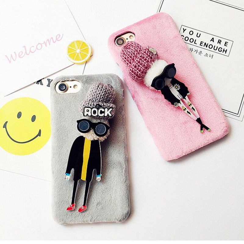 promo code ac931 a8a4a US $9.99 |Fashion Manual Homemade DIY Plastic Mobilephone Case For iPhone6  6S 7 7plus 6plus Cartoon Cellphone Protective Shell For iphone6-in Fitted  ...