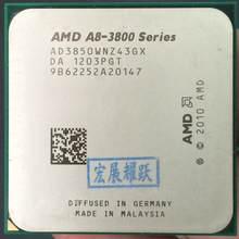 AMD A8-Series A8-3850 - AD3850WNZ43GX A8 3850 Quad-Core CPU 100% working properly Desktop Processor(China)