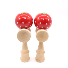 Kendama Toy Ball Outdoor Fun Sports Juggling Ball Toy Fashion Cute Paint Wooden Toy Ball Gift