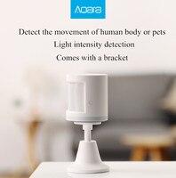 Xiaomi Original Aqara Human Body Sensor Smart Body Movement Motion Sensor Zigbee Connection holder stand Mihome Android&IOS App