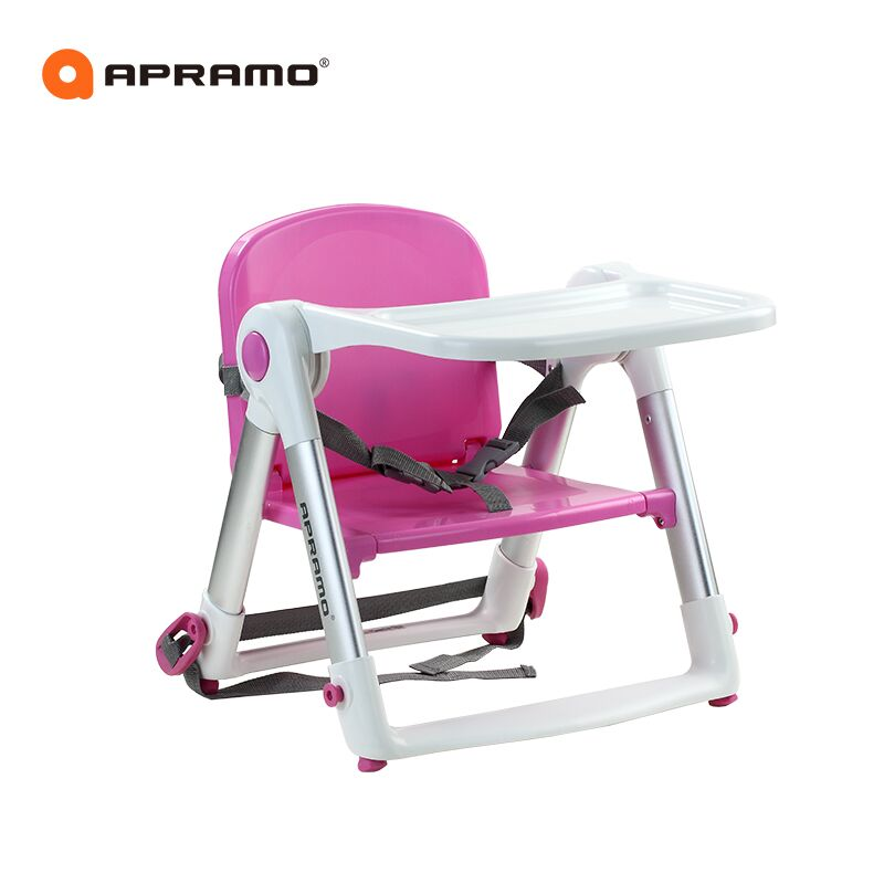 Babyfond flippa child dining chair multifunctional portable folding baby dining chair convenient folding portable multifunctional phone holder red