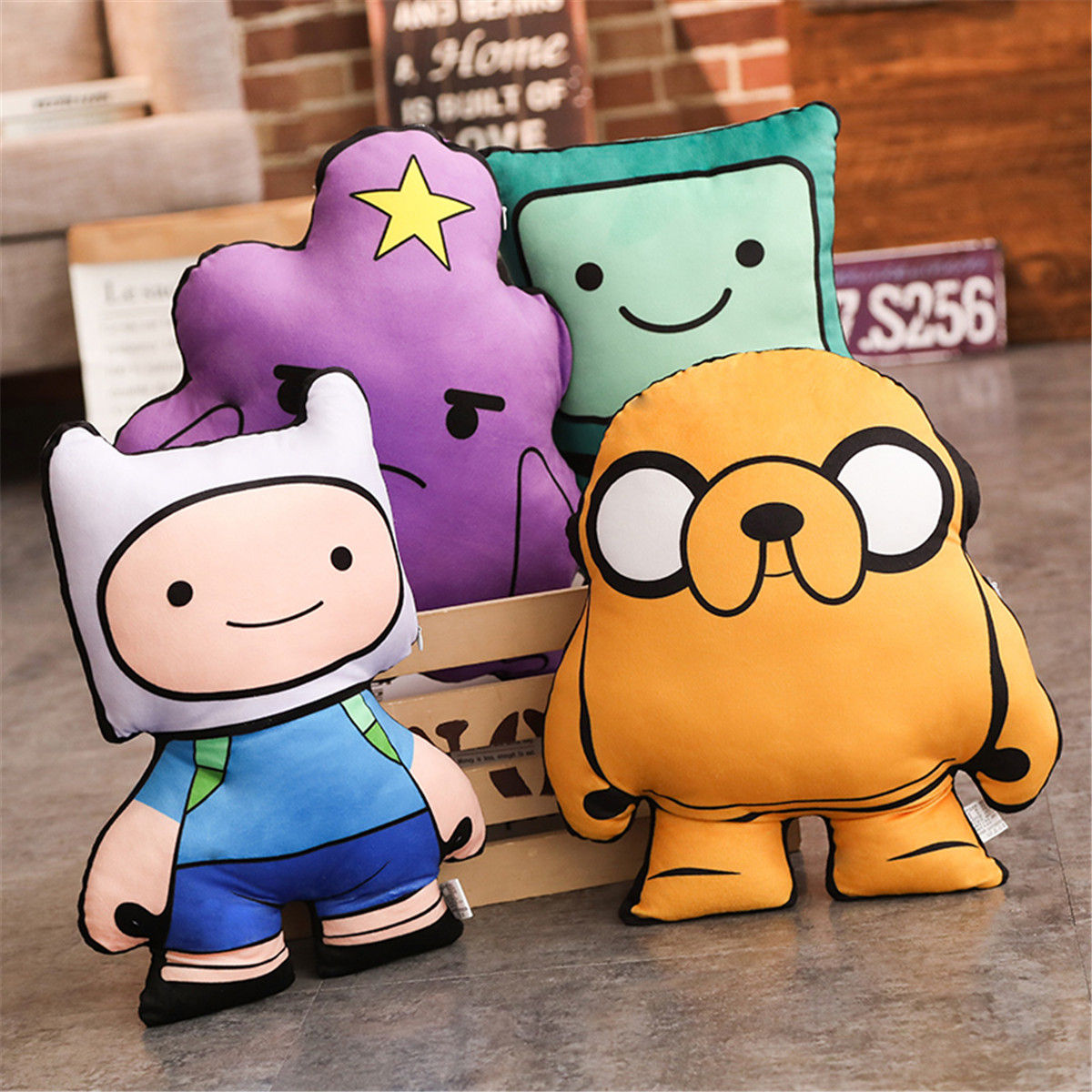 Plush Toys Finn Jake Beemo Bmo