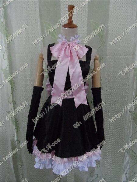 Livraison gratuite HOT anime MIKU robe de VOCALOID Cosplay Costume pour  femme 78b6c2411fa