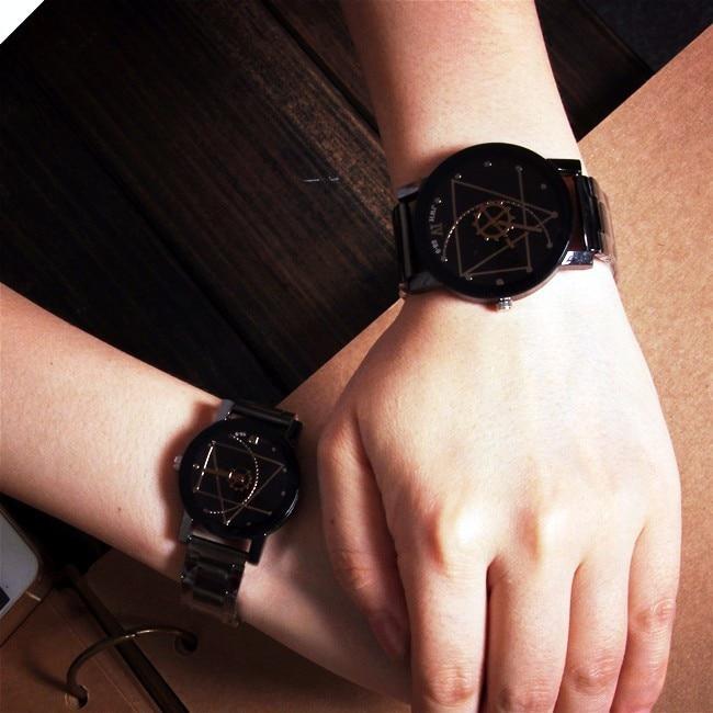 Creative Design Casual Fashion Watch Luxury Brand Famous Women Watches 2018 Reloj Mujer Stainless Steel Quartz Lover Wristwatch