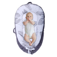 Baby Bed Portable Crib Cot bebe Foldable Bionic Bed Newborn And Tddlers Nursery Travel Cradle Nest Bed bedje