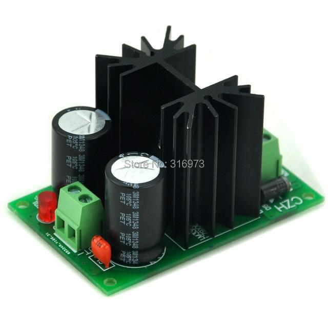 Negativo 12 V DC Módulo Regulador de Voltaje de Placa, de alta Calidad.