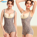 NEW Women Floral Bodysuits Shapewear Underwear Plus Size Body Shaper Waist Corsets Buckle In The Crotch High-elastic