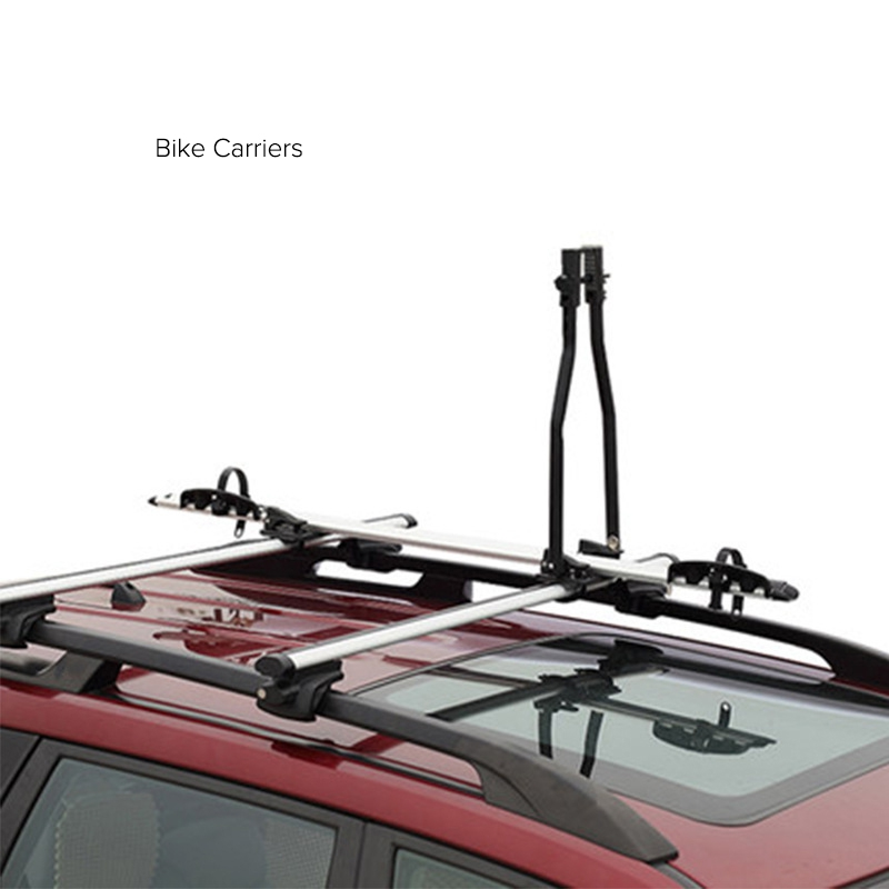 Car Roof Rack With Anti Thief Lock For Bike Bicycle Carrier Bracket Roof Top