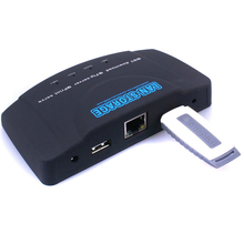 2 Port USB Printing Server Network Print Share Device Support Windows 98/XP/2000/Vista/Win7/Linux Low-power Operation