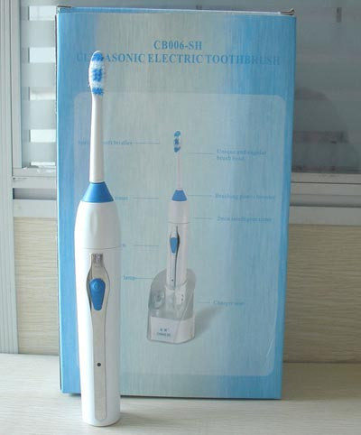 Гигиена полости рта Мода смарт ультразвуковой электрический MF зубная щетка-sonic мягкая электрическая зубная щетка датчик воды щетка для очистки зубов