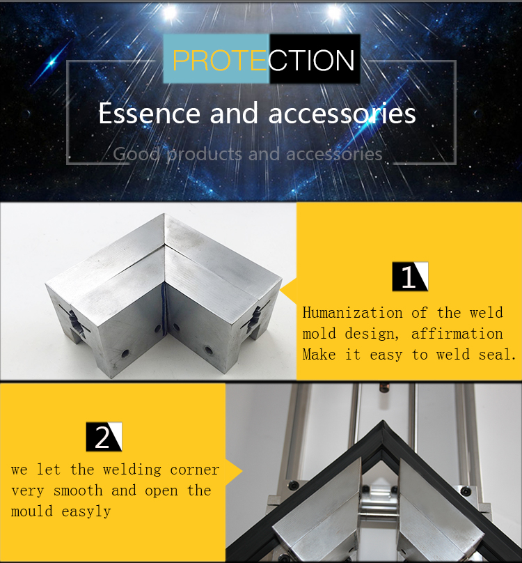 cheap welding machine for refrigerator door gasket seal Soft plastic