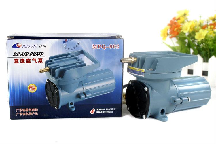 NEW Resun MPQ-902 MPQ DC 12V 1.2 A 18W 2280L/Hr 602GPH Air Pump  Aquariums accessories Free Shipping автокормушка для рыб resun af 2009d