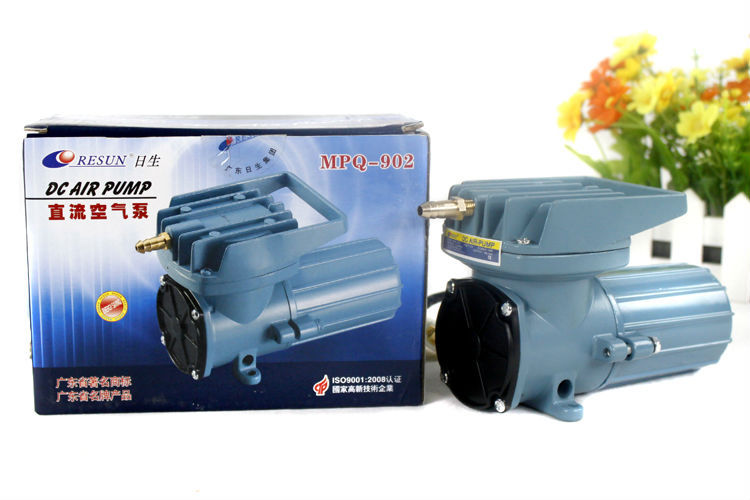 NEW Resun MPQ-902 MPQ DC 12V 1.2 A 18W 2280L/Hr 602GPH Air Pump Aquariums accessories Free Shipping