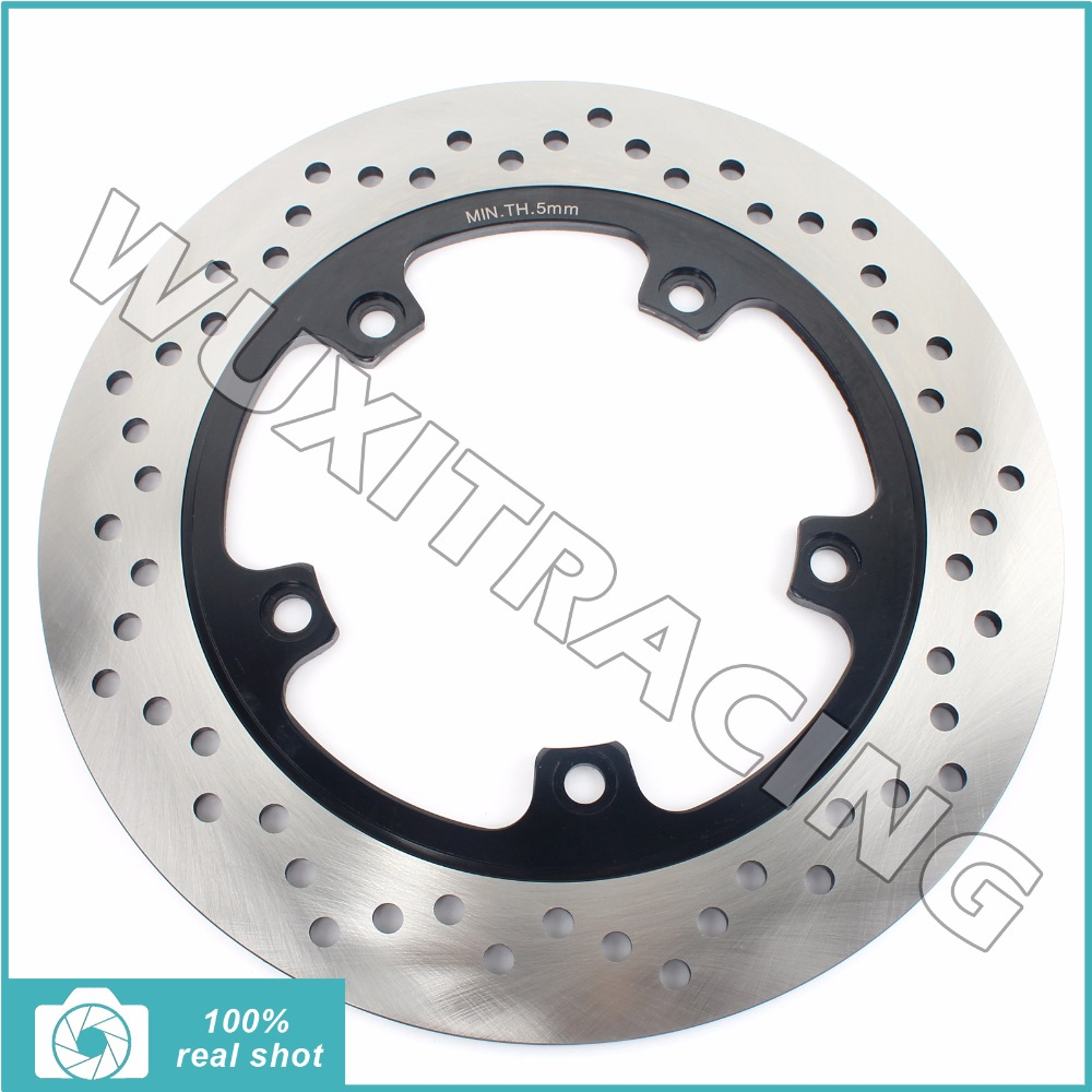285mm Black New Motorcycle Rear Brake Disc Rotor fit for TRIUMPH Tiger 955 Tiger955 Cast Wheel 2004-2007 2005 2006 04 05 06 07 motorcycle part front rear brake disc rotor for yamaha yzf r6 2003 2004 2005 yzfr6 03 04 05 black color