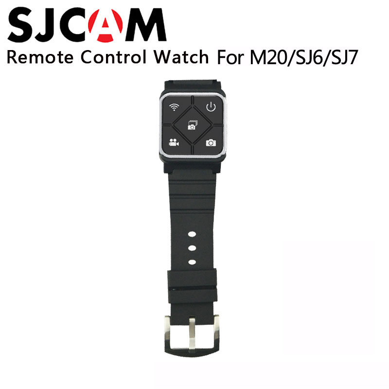 Original SJCAM SJ6 Accessories Remote Control Watch WiFi Wrist Band For SJ CAM M20 SJ6 LEGEND SJ7 Star SJ8 Series Action Camera new arrive sjcam sj7 star sj6 legend accessies 3 axis handheld gimbal for sjcam sj6 sj7 star wifi series cam