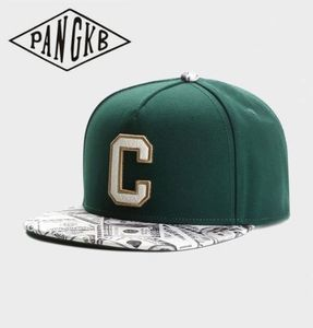 PANGKB Brand CEE BENJAMINS CAP Letter C hip hop snapback hat Autumn for men women adult outdoor casual sun baseball cap bone(China)