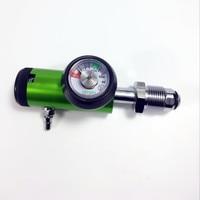 BS standard oxygen regulator Bull nose Medical Oxygen cylinder flow regulator, O2 cylinder oxygen regulator 0 4LPM
