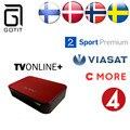 TVonline + Caja IPTV IPTV IPTV Escandinavos Suecia Finlandia Noruega Dinamarca Europa Real Árabe IPTV 1850 + Europa Vida IPTV IPTV