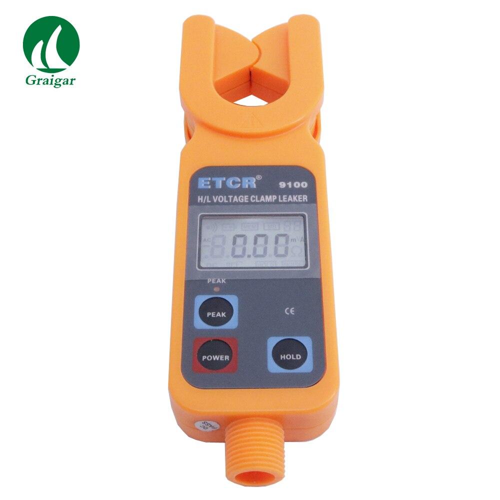 ETCR9100 H/L напряжение клещи с портативный Высокое/низкое напряжение AC Ток утечки клещи измерения