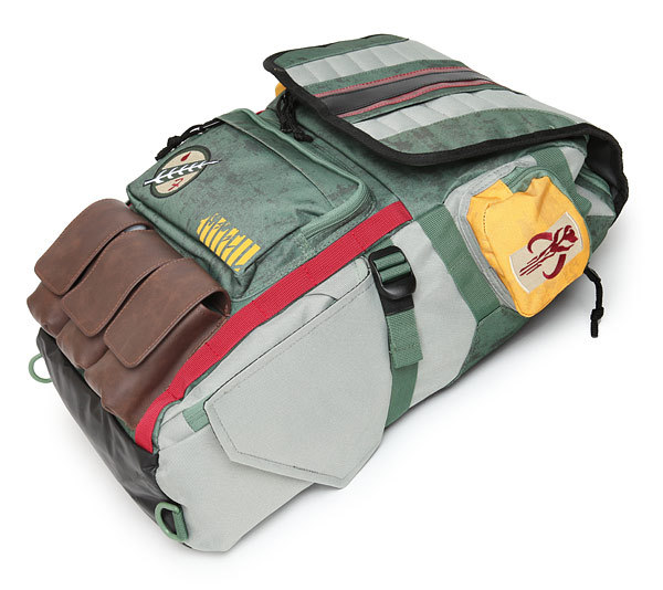 2018 new Boba Fett Mandalorian Armor Backpack star war Pringting Backpack For Teenagers