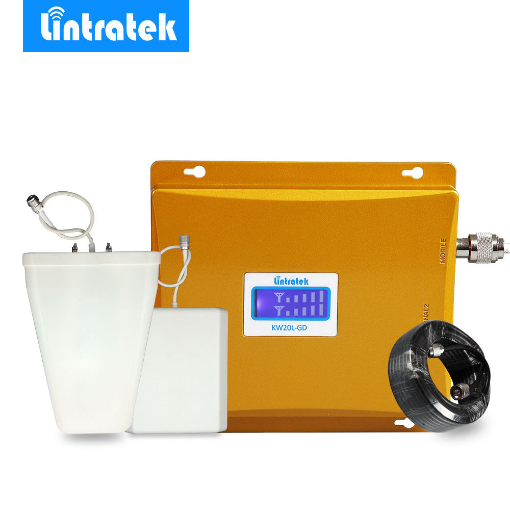 HOT LCD Display GSM 900 mhz 4g LTE 1800 mhz Dual Band Handy Signal Booster Verstärker GSM 900 1800 2g 4g Signal Repeater Set @