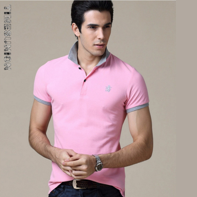Hot ! 2015 New Fashion brand Short Sleeve Men Polo Ralph Men Cotton Casual Breathable Fitness Boss Men Polo Shirts Size:S~3XL