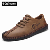 Genuine Cow Leather Casual Shoes Men Superstar Handmade Sewing Lace Up Natural Rubber Bottom Zapato De