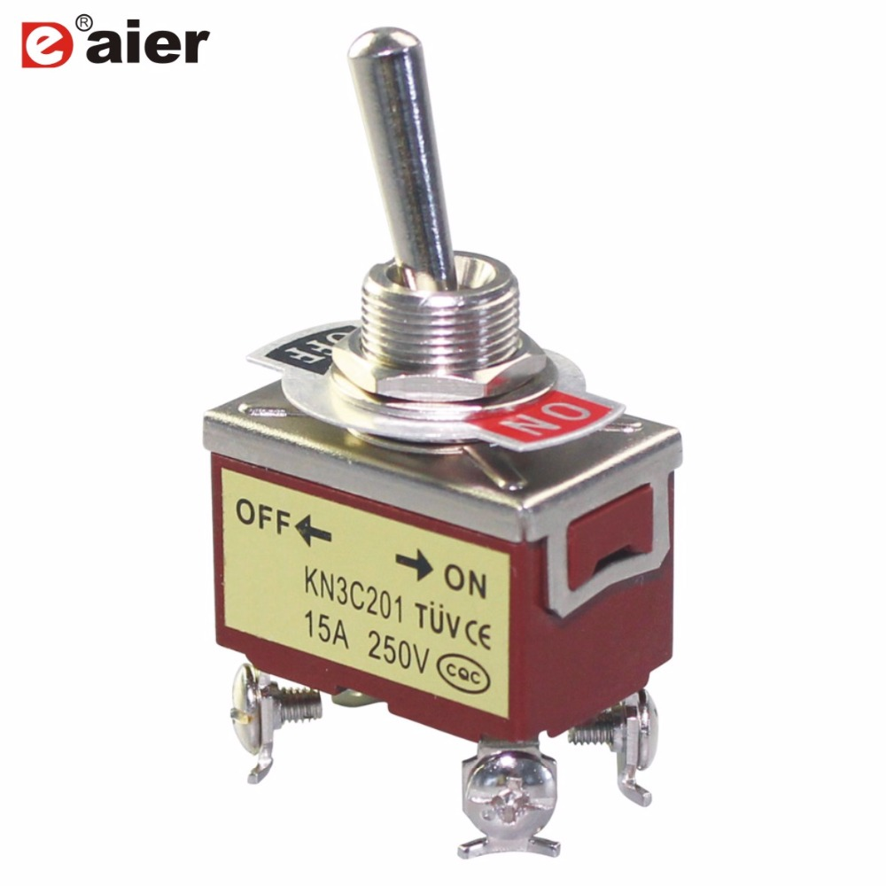 medium resolution of 2pcs toggle switch heavy duty switches 4 pins 2 positions on off double pole dpst