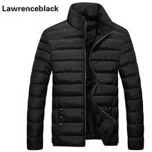 Unten Parka Winterjacke Warm 2016 Marke Allgleiches Normal große Yards Oberbekleidung Wadded Mantel Slim Fitness Gesteppte Reißverschluss Mantel 63