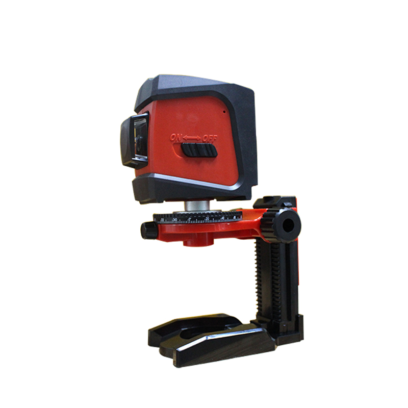 ACUANGLE A8846 Mini 4 Lines 360 Degrees Red Laser Level Auto Self-Levelling In Range with 5/8 360 degrees laser level bracket centurion smart 1 smart 2 smart 4 replacement remote control