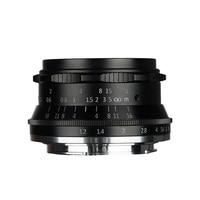 Original 7artisans 35mm F1.2 APS C Manual Fixed Lens For Canon EOS M M1 M2 M3 M5 M6 M10 M100 SLR Camera