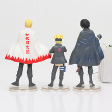 Boruto Naruto Uchiha Sasuke Action Figure (3pcs/lot )