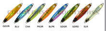 5pcs 20g 30g 40g Fishing Jigs with VMC single hook, Metal Jig Lures, Micro Lead Fish Bait, Sea bass Jigging, Free shipment