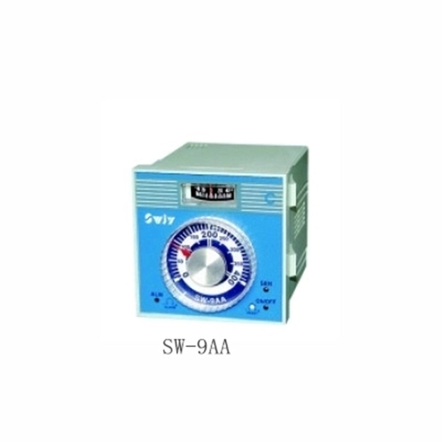 SW-9AA dial setup temperature controller,deviation indicating controller,K/J/PT100 type thermostat encoded setting digital temperature controller sw c4