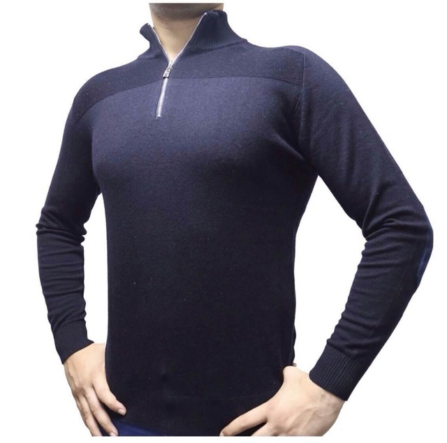 fc792cc766e Миллиардер итальянский кутюр мужчины свитер бренд для осень зима мужские  свитера