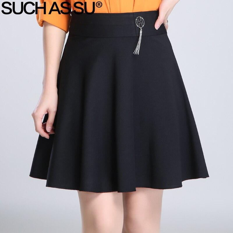 Black Knit Mini Skirt Promotion-Shop for Promotional Black Knit ...