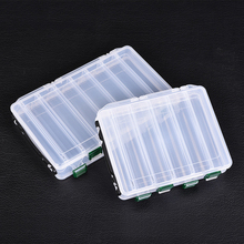 Fishing Lure Box Double Sided Tackle Box Fishing Lure Egi Squid Jig Pesca Accessories Box Minnows Bait Fishing Tackle Container