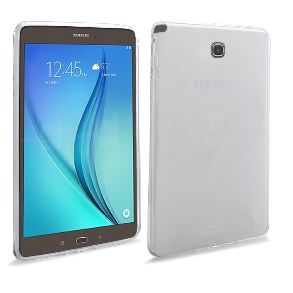 Samsung Galaxy Tab A 8.0 TPU üçün CucKooDo, X Dizayn Slim TPU Gel - Planşet aksesuarları - Fotoqrafiya 2