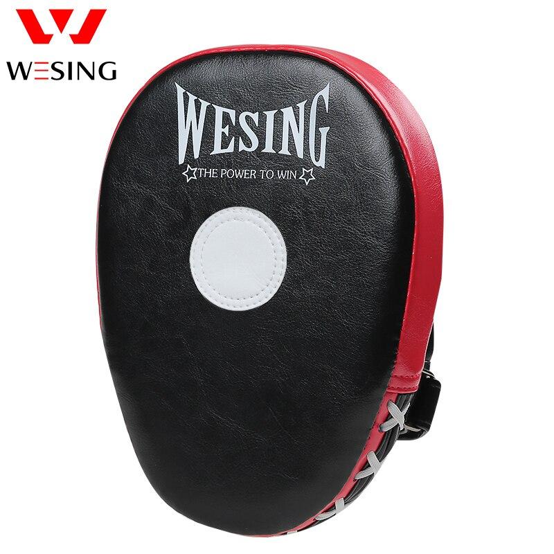 WESING Boxing Kickboxing Focus Target Punch Mitts Hand Target Punching Pads Focus Mitts Kick Pads