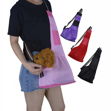 Summer Pets Dog Carrier Bag Mesh Breathable Washable Pet Slings Shoulder For Small Puppy Large Cat Travel Backpack NZP26