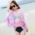 Beach Towels Scarves Female Summer Bask In Large Shawl Joker Gauze Veil The Seaside Female Thin Chiffon Scarf