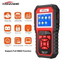 Professional scanner obdii Auto Car Diagnostic Scanner obd2 code reader Scanner auto check diagnostic tool Erase Errors KW850