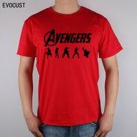 avengers marvel hulk T-shirt Top Lycra Cotton Men T shirt