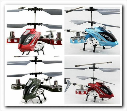 DFD F103 Avatar alloy 4 ch mini rc helicopter with gryo  P2