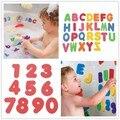 Venda quente 36 pçs/set crianças banheira de espuma letras números crianças brincam brinquedos para crianças de aprendizagem educacional brinquedo