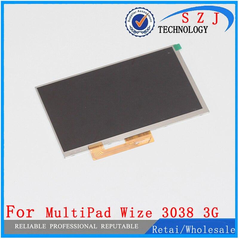 Neue 7 ''zoll LCD Display Matrix Prestigio MultiPad Wize 3038 3G TABLET TFT LCD Screen Panel Objektiv Rahmen ersatz Freies verschiffen