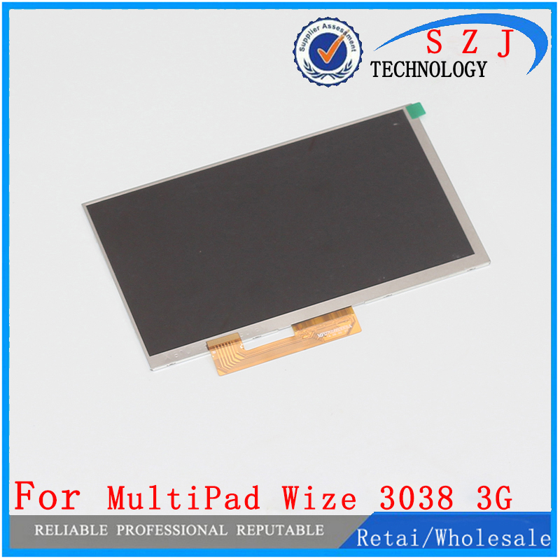 New 7'' inch LCD Display Matrix Prestigio MultiPad Wize 3038 3G TABLET TFT LCD Screen Panel Lens Frame replacement Free Shipping new lcd display 7 inch prestigio 32001233 15 tablet lcd screen panel lens frame replacement free shipping