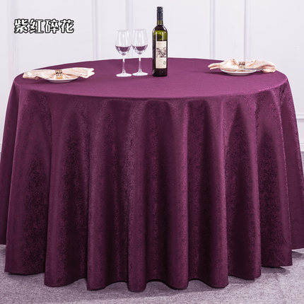 Small Floral Hotel Tablecloth Restaurant Square Round Tablecloth