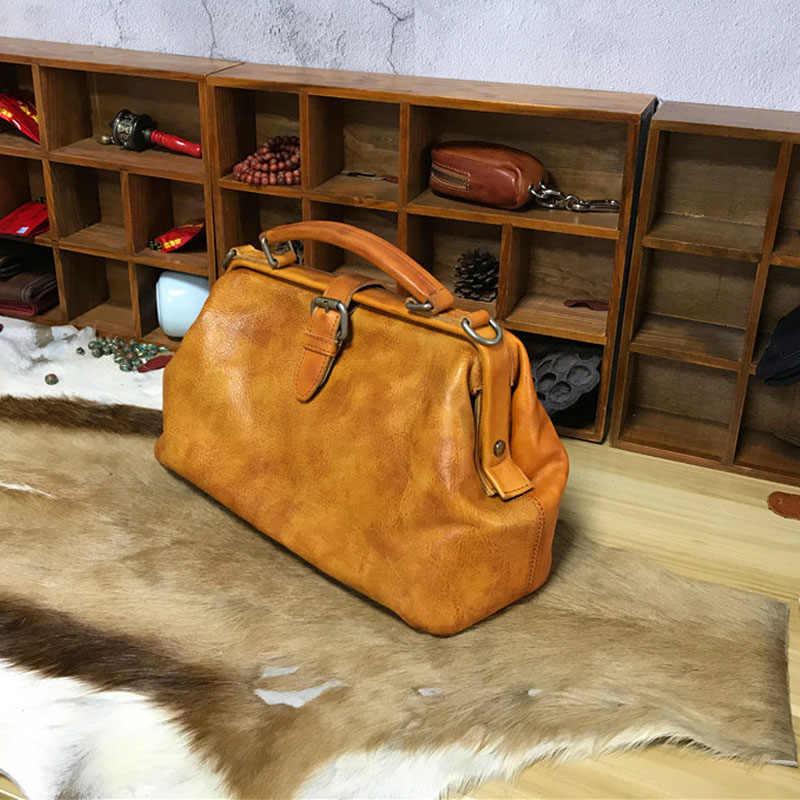 Rose imprint Brand Vintage Women s Handbags Retro Genuine Cow Leather Solid  Soft Cowhide Hobos Totes Crossbody 6aa0386d2b