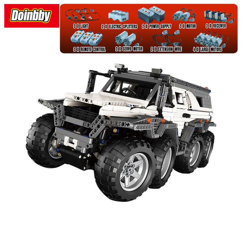 23011 Technic Series Off-Road Vehicle Car-Styling 2959Pcs Model Building Kits Block Bricks Chidren Gifts Toys